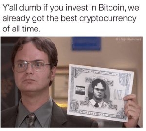 Is it dumb to invest in bitcoin
