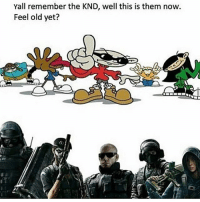 rainbow six 😂: Yall remember the KND, well this is them now  Feel old yet? rainbow six 😂