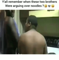 Shit i dont play around when it comes to my food 😀 HoodClips: Y'all remember when these two brothers  were arguing over noodles ? Shit i dont play around when it comes to my food 😀 HoodClips