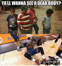 LeBron James after falling to the Spurs tonight.  Credit: Winston Christopher: YALL WANNA SEE A DEAD BODY  der  @NBAMEMES  3RD  25.0  20 LeBron James after falling to the Spurs tonight.  Credit: Winston Christopher
