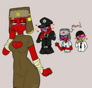 Mommy, Uwu, and Commie: YAME Commie Mommy UwU