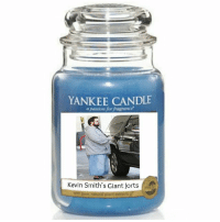 jorts: YANKEE CANDLE  passion for fragrance'  Kevin Smith's Giant Jorts
