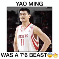 Yao Ming was INSANE 😳 - Follow @cleanhighlights for more! ----------------- Via 📽 (@neverforgetplays): YAO MING  TICKETS  WAS A 76 BEAST Yao Ming was INSANE 😳 - Follow @cleanhighlights for more! ----------------- Via 📽 (@neverforgetplays)