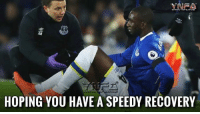 Memes, 🤖, and Recovery: YARA  HOPING YOU HAVE ASPEEDY RECOVERY Banter aside.. never nice to see an injury like this as Bolasie is ruled out for the season with a cruciate knee ligament injury... Good luck fella