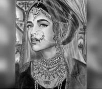 Deepika Padukone's first look revealed for PADMAVATI! <3 <3 <3: yC Deepika Padukone's first look revealed for PADMAVATI! <3 <3 <3