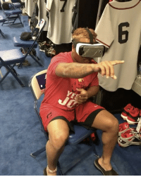 This scary virtual reality video scared ClevelandIndians' JoseRamirez right out of his seat! 😳😩😂 @Danny.Salazar31 @Ramirez_Jose11 WSHH: YE This scary virtual reality video scared ClevelandIndians' JoseRamirez right out of his seat! 😳😩😂 @Danny.Salazar31 @Ramirez_Jose11 WSHH