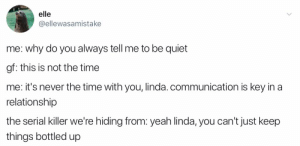 Yeah Linda communication is key by MattloKei MORE MEMES: Yeah Linda communication is key by MattloKei MORE MEMES