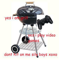 Memes, 🤖, and Nit: yes a  iyes i ploy video  dont nit on me il boys xoxo gamer grills are so hot