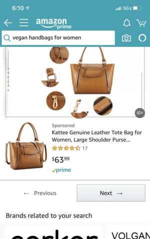 Yes amazon, this is exactly what I was looking for when searching for a vegan handbag lol: Yes amazon, this is exactly what I was looking for when searching for a vegan handbag lol