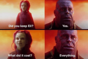 Nfl, Giants, and Yes: Yes.  Did you keep Eli?  What did it cost?  Everything. The Giants right now...