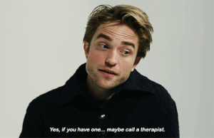 robsource:  Robert Pattinson on 'The Lighthouse,' Mustaches and Singing Sea Shanties: Yes, if you have one.. maybe call a therapist. robsource:  Robert Pattinson on 'The Lighthouse,' Mustaches and Singing Sea Shanties