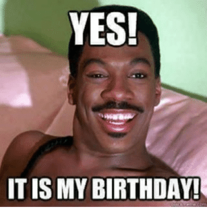 94+ 20 It S My Birthday Memes To Remind Your Friends Sayingimages ...: YES!  ITIS MY BIRTHDAY 94+ 20 It S My Birthday Memes To Remind Your Friends Sayingimages ...