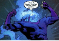 Money, Yes, and  Dollars: Yes! r  have a hundred  of the Ea  dollars! Dormammu makes money