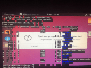Yes, System Problem Detected.: Yes, System Problem Detected.