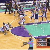 This clutch March Madness moment changed Rip Hamilton's life. (➡️ @SoFi): Yes!  WASH  CONN This clutch March Madness moment changed Rip Hamilton's life. (➡️ @SoFi)