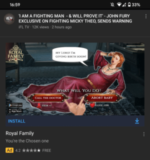 Yes YouTube. This is the ad I want to see. PewDiePie should react to these ridiculous YouTube ads.: Yes YouTube. This is the ad I want to see. PewDiePie should react to these ridiculous YouTube ads.