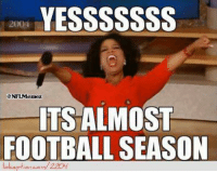 Football, Nfl, and Http: YESS SSSSSS  ITS ALMOST  FOOTBALL SEASON The reaction of all NFL fans! Credit: Rufus Curtis  http://www.lolception.com/2204
