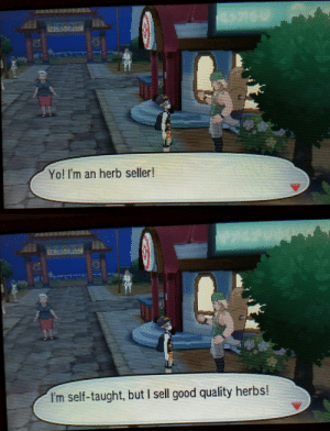 Tumblr, Weed, and Yo: Yo! I'm an herb seller!   I'm self-taught, but I sell good quality herbs! poke-parfait: Weed man in alola ain't even trying to hide it