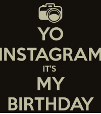 It's official lady's and gentleman 🎂🎈🎁🎂💃💃💃😎 the big 4 0 LasVegas Birthdaybehavior: YO  INSTAGRAM  IT'S  MY  BIRTHDAY It's official lady's and gentleman 🎂🎈🎁🎂💃💃💃😎 the big 4 0 LasVegas Birthdaybehavior