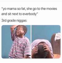 "Af, Bitch, and Finals: ""yo mama so fat, she go to the movies  and sit next to everbody""  3rd grade niggas: If you black there's no such thing as cyber bullying or bullying in general for that matter. You gotta have tough skin in this cruel world. Flash back to the simpler times when you roast someone you had to be there not on Twitter. Yo mama jokes were probably the most fierce and cruel for two reasons. 1. because it's personal and 2. because it's personal. I can talk all the shit about my momma but if someone else do it these hands are registered to deal some damage. In middle school we had a sub for the day. Everybody knows the Sub gets less respect then Yamcha. Sub teachers get no love in the public school system. Usually we rejoicing cause our teacher was mean af and we get to do shit we usually don't getaway with. This one sub (she was white) was unseasoned and uncultured. We was probably her first black class she ran into. Shit went left from the jump when she couldn't pronounce the more challenging ghetto names like Shiquda carpayment or Walter Watermelon Jenkins the 3rd or what my niggas called Dae dae. This sub came fully prepared with a lesson and all that. We gave no fucks she eventually said fuck it too and gave free time. We started to get into yo momma jokes. At first the sub was hesitant but she saw we didn't care it was all fun and games. It's 3rd period and we literally having a 20 man battle royale roast session. It looked like a March madness bracket the way we had rounds set up. The sub tryna be hip and hops in to roast dae dae in the semi finals. It was fun till it got personal. The Teacher had to take it to another level like she Jiren from Super. ""Yo momma so ugly that's why you don't got a daddy DAE dae"". Like damn bitch we some kids you really had to take it there. I can see defeat in dae daes eyes as he begin to go for his turn. My boy done stuttered and that's automatic disqualification once a person begins to stutter just pull out a clip board for the L they have to receive. My Becky won yo momma that day. After school dae dae momma pulled up to school and he told her what happen. Shortly after Ms. Becky got robbed in the parking lot. Long story short don't fuck with a kid name dae dae. That shit almost sound like dangerous."