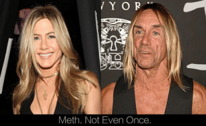 Sarah Jessica Parker becomes the new spokesperson for the anti-drug movement. - 2017: YO  Meth. Not Even Once Sarah Jessica Parker becomes the new spokesperson for the anti-drug movement. - 2017