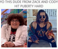 Dude, Memes, and Yo: YO THIS DUDE FROM ZACK AND CODY  HIT PUBERTY HARD