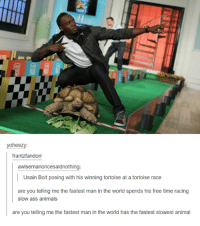 fastest man in the world