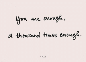 atticus: Yon ane enough,  a thousand times enough  ATTICUS