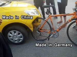 lol-caster:  Show This To Whoever Has Doubts About German Quality: YON  Made in China  Made in Germany lol-caster:  Show This To Whoever Has Doubts About German Quality