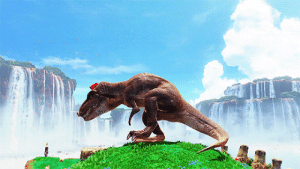 Beautiful, Target, and Tumblr: yoshizilla-rhedosaurus:Something this beautiful would not have happened decades ago. Mario can possess a T-Rex. Move over, Yoshi.
