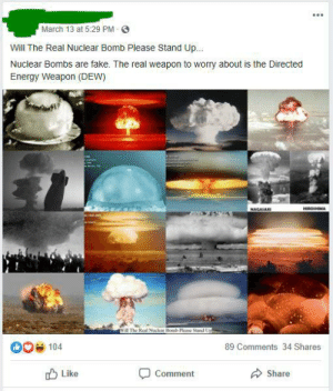 You've heard of flat earthers and anti-vaxxers. Now get ready for nuke hoaxers, the group that believes that nuclear weapons never existed.: You've heard of flat earthers and anti-vaxxers. Now get ready for nuke hoaxers, the group that believes that nuclear weapons never existed.