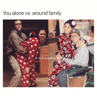 Being Alone, Family, and Love: You alone vs. around family  IG Erectshins  0 Yuh dis me . ( Show some love to my personal @prxvxked )