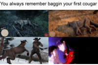 cougar: You always remember baggin your first cougar