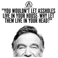 "Head, Memes, and House: ""YOU AMBITION  CIRCLE  ASSHOLES  LIVE IN YOUR HOUSE WHY LET  THEM LIVE IN YOUR HEAD?"" Don't let assholes live inside you! - DOUBLE TAP IF YOU AGREE!"