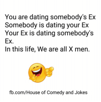 dating a guy who lives with ex