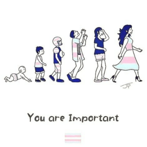 Children are aware of their gender identity by the time they are four years old. Being transgender is not a phase and it's not a choice. It's who they are and who they always were. ⚧️ (art credit unknown)  https://www.instagram.com/p/B5OHlj_hYpX/?igshid=4l5df83mn7om: You are Important Children are aware of their gender identity by the time they are four years old. Being transgender is not a phase and it's not a choice. It's who they are and who they always were. ⚧️ (art credit unknown)  https://www.instagram.com/p/B5OHlj_hYpX/?igshid=4l5df83mn7om