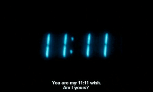 wis: You are my 11:11 wis.  Am I yours?
