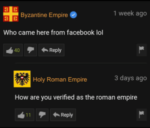 You are not the true successor of Rome: You are not the true successor of Rome