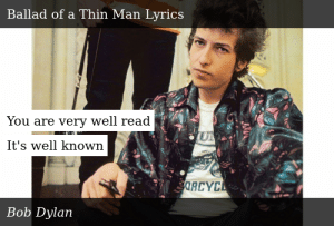 Bob Dylan-Highway 61 Revisited-Ballad of a Thin Man