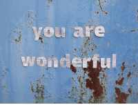 You, Wonderful, and You Are: You 'are  wonderful