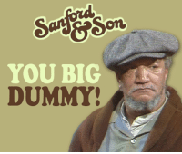It was 40 years ago today when Sanford and Son ended its 6 season run in 1977. Watch it weekdays at 5p ET on Antenna TV.  What is your favorite quote from Sanford and Son?: YOU BIG  DUMMY It was 40 years ago today when Sanford and Son ended its 6 season run in 1977. Watch it weekdays at 5p ET on Antenna TV.  What is your favorite quote from Sanford and Son?