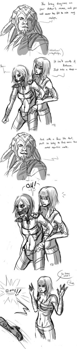 okheshivar:  Commission comic of that time Tanya's diplomacy failed her.Bonus:And bonus big bro Baraka:Based on this.: You bringdis^ace on  Your fothor s nme, an you  bwilnever ba ft ta le ant  malm  otheshver   It isnt worth t  You  Lahnum  Just ike a deep  TB   And with a fce lke that  youll be lucky to fin's een the  most rep kive mate.  O u  Te   You now  what?  Fine  TB okheshivar:  Commission comic of that time Tanya's diplomacy failed her.Bonus:And bonus big bro Baraka:Based on this.