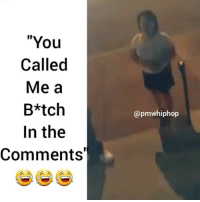 """Beef, Beef, and Memes: """"You  Called  Me a  B*tch  In the  Comments'  @pm whiphop Y'all be careful who you beef with in comments 😂😂 - FULL VIDEO AT PMWHIPHOP.COM LINK IN BIO"""