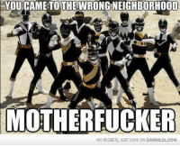 Damn! LOL: It's morphin' time!