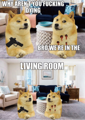 You can't die in the living room: You can't die in the living room