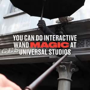 These are ALL the spells at Universal Studios that let you perform actual wand magic 👏🏻👏🏻: YOU CAN DO INTERACTIVE  WANDMAGIC AT  CESINIVERSAL STUDIOS  SEVACE These are ALL the spells at Universal Studios that let you perform actual wand magic 👏🏻👏🏻