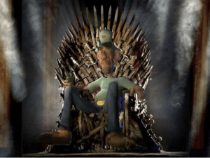 You can keep your Daenerys and your Stannis, there is only ONE man I would ever trust to sit on the Iron Throne: You can keep your Daenerys and your Stannis, there is only ONE man I would ever trust to sit on the Iron Throne