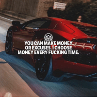 "Confidence, Fucking, and Life: YOU CAN MAKE MONEY  OR EXCUSES,ICHOOSE  MONEY EVERY FUCKING TIME.  MILLIONAIRE MENTOR Are you living a life if endless excuses? I KNOW YOU ARE! Here are the reasons we make excuses. ✔️Failure. ✔️Embarrassment. ✔️Fear of success (believe it or not.) ✔️Change. ✔️Uncertainty. ✔️Responsibility. ✔️Making mistakes. ✔️Lack of confidence or resources. Excuses lead to getting ""stuck"" and a life FULL of regrets. Moreover, success in any field of endeavor requires a period of discomfort where we must venture into unfamiliar territories, never knowing what to expect. 👀 The moment you catch yourself making excuses, immediately ask yourself the following set of questions: -How badly do I really want this? -Why don't I have what I want? -What excuses are getting in the way? What can you do? Focus on solutions and opportunities! the things that did work. It's a simple shift, but if we keep this principle at the forefront of our mind when making excuses, it will immediately transform our perspective of the situation at hand. - What do YOU do when you catch yourself making excuses? Comment below! - excuses solutions opportunities millionairementor"