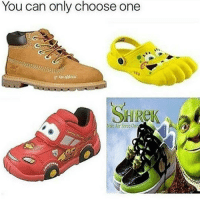 KACHOW: You can only choose one  Nike Air Force One KACHOW
