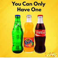 Coca-Cola, Memes, and 🤖: You Can Only  Have One  Se  12 Which one??? Coca-Cola for me krakstv